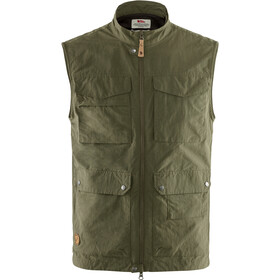 Fjällräven Travellers MT Vest Heren, laurel green